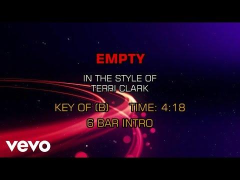 Terri Clark - Empty (Karaoke)