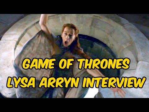 Game of Thrones Lysa Arryn Interview - Kate Dickie