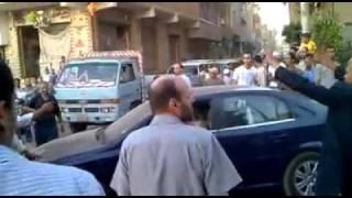 ازدحام قرية جنزور المنوفيه /فى حادث فظيع لام 4 ابنائها