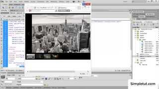 How To Create a Responsive JavaScript Image Gallery - Easy Dreamweaver Tutorial