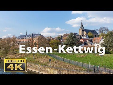 Rundgang durch die Altstadt von Essen-Kettwig in 4K