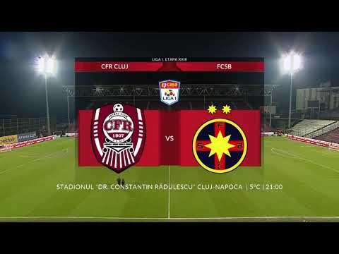 CFR Cluj Steaua Bucharest Goals And Highlights