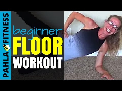 FULL BODY Floor Workout | Barefoot BODYWEIGHT Toning for BEGINNERS