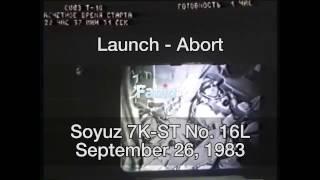 Soyuz 7K-ST - Launch-Abort