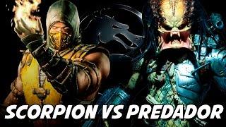 Mortal Kombat X – Scorpion vs Predador FIZ MAIS UMA VÍTIMA
