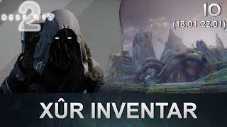 Destiny 2 Forsaken: Xur Standort & Inventar (18.01.2019) (Deutsch/German)