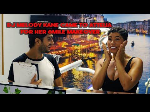 DJ MELODY KANE CAME TO ATTELIA FOR HER SMILE MAKEOVER | ATTELIA DENTAL TURKEY