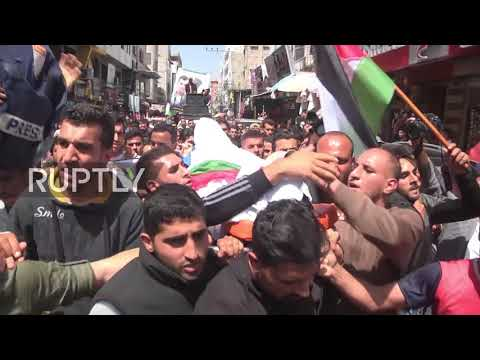 State of Palestine: Journalist killed in border clashes laid to rest in Gaza