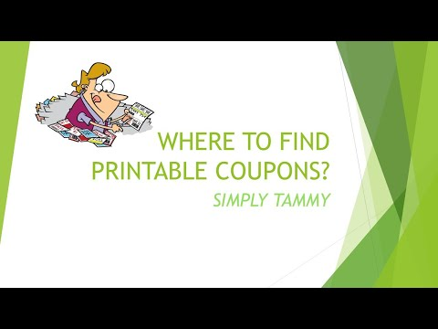 WHERE TO FIND PRINTABLE COUPONS?| NEW TO COUPONING| COUPON WEBSITES