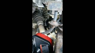 2012 Ford Focus S.E  Transmission Fluid Changed and Filled. Part 2