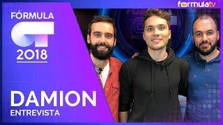Damion recuerda OT 2018 y cómo les contaron el despido de Itziar Castro fuera de cámara - Fórmula OT