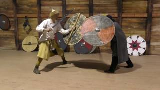 Viking Shield vs Viking Sword, Part 1: Glue, Planks & Hide