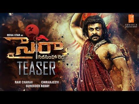 Sye Raa Narasimhareddy Teaser | MegaStar...