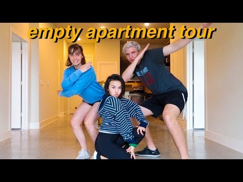 EMPTY APARTMENT TOUR 2018!