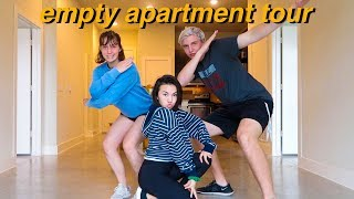 EMPTY APARTMENT TOUR 2018!