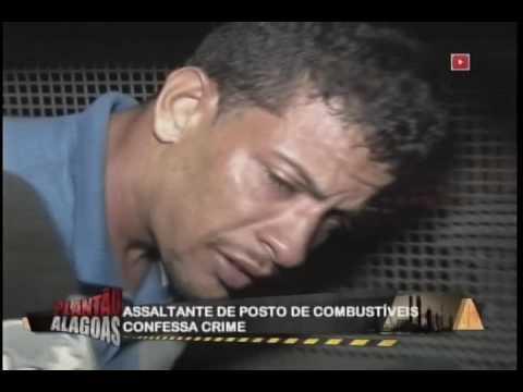 Assaltante de posto de combustíveis confessa crime