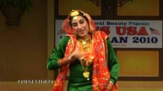 253 Dance Round Full Miss USA Punjaban 2010