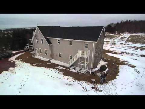 PEI Drone Test Flight in North Milton, Prince Edward Island