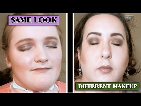 TUTORIAL- SAME Look, DIFFERENT Makeup | MOM & ME Re-CREATION