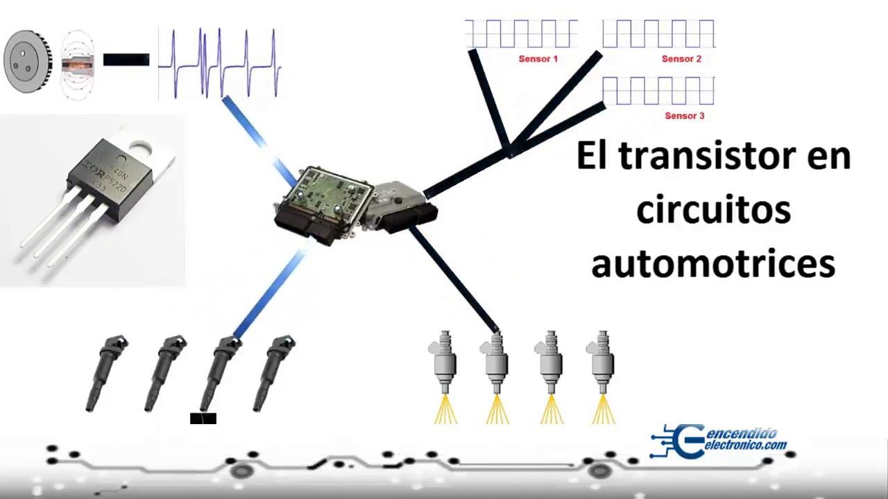 transistores y problemas en circuitos automotrices
