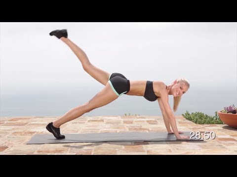 Full Body Workout at Home: Bodyweight Exercises - Music Only - Fat Burning No Equipment workout