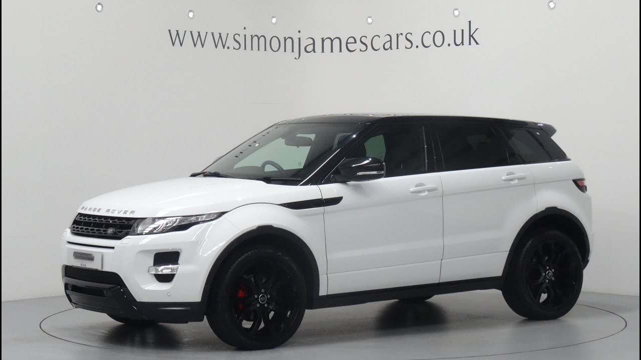 range rover evoque 2 2 sd4 dynamic youtube. Black Bedroom Furniture Sets. Home Design Ideas