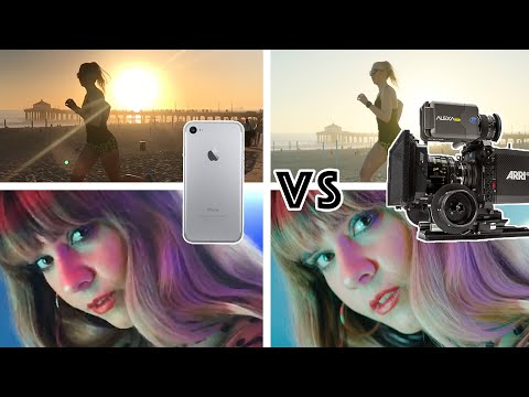 iphone 7 vs Hollywood Movie Camera Arri Alexa