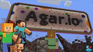 MINECRAFT Agar.io Destroying the Server! Agar.io Minecraft Build Battle Live Stream