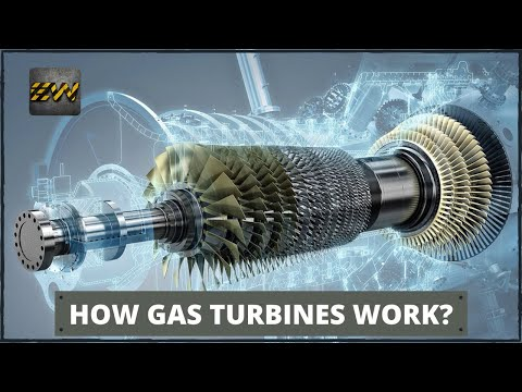 How Gas Turbines Work? (Detailed Video)