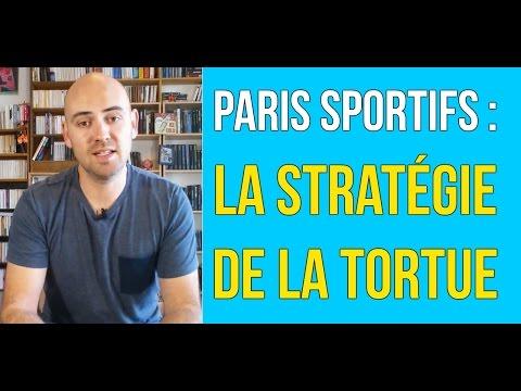 La stratégie de la tortue aux paris sportifs