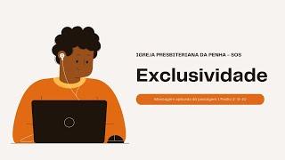 Culto para Adolescentes - SOS | Exclusividade | 1 Pedro 2. 9-10