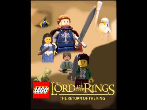 Lego Lord Of The Rings The Return Of The King Poster Youtube