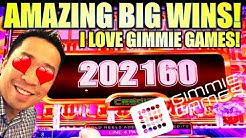 ★JACKPOTS & AMAZING BIG WINS!★ 😍 BEST OF GIMMIE GAMES! Slot Machine (Aristocrat)