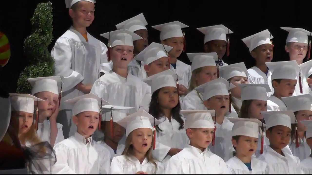 Kindergarten Graduation Ceremony - YouTube