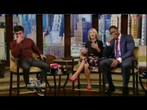 Zac Efron Interview   Live with Kelly and Michael