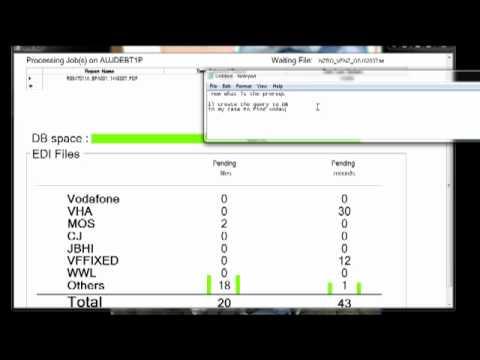 Edi monitor for Jdedwards in c#