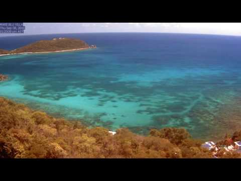 St. John Rendezvous Bay, September 2016 Time Lapse