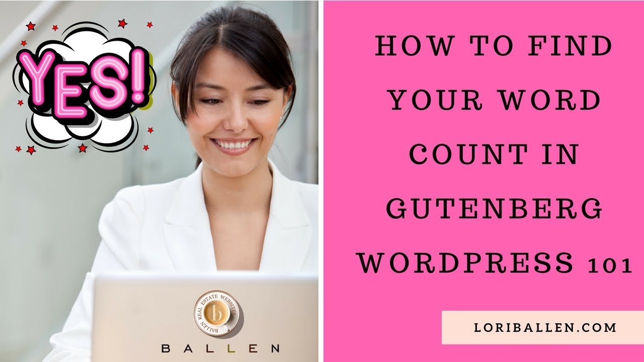 how to find word count in word