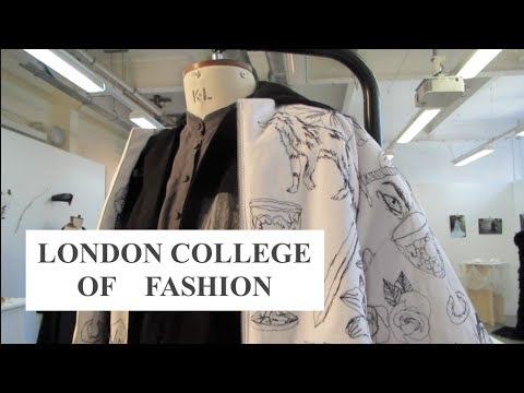 VISITING THE LONDON COLLEGE OF FASHION AND SHOPPING//vlog