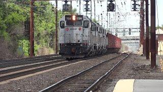 Amtrak work train at Newark, DE