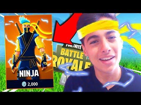 j'achÈte-ce-nouveau-skin-qui-me-donne-le-niveau-de-ninja-pour-top-1-sur-fortnite-battle-royale-!