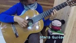 [클래식 기타연주/마리아루이사] J.S.Sagreras…