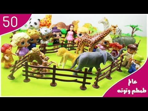 رحلة الحضانة لحديقة الحيوان 🙈 🐘  -  عالم طمطم وتوته | الحلقة 50