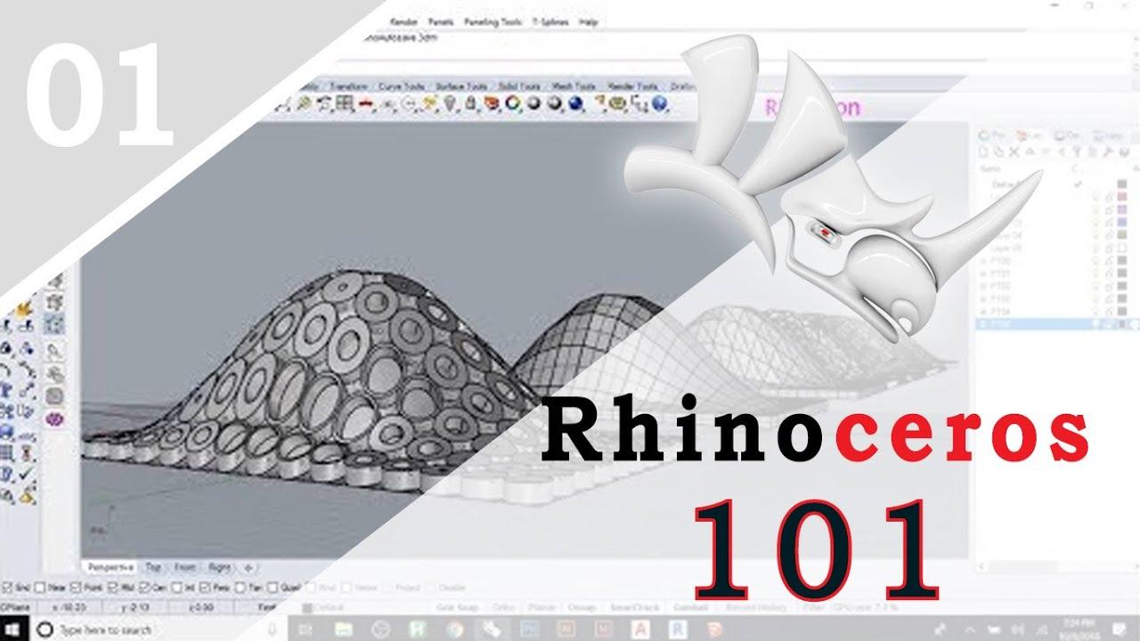 Rhino 3d panelling tools