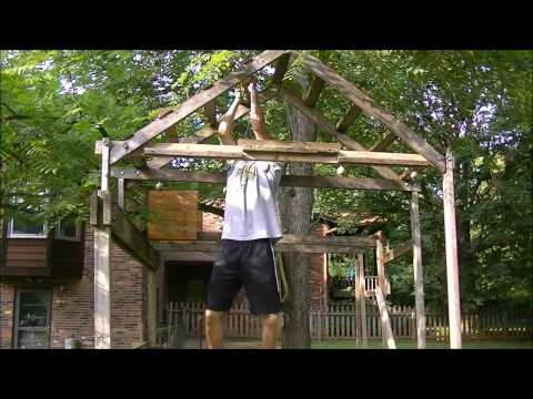 Homemade Ninja Warrior Obstacle Course