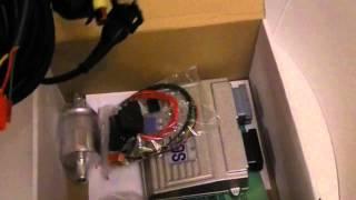 Электроника ГБО 4 поколения SEC PRO. Распаковка