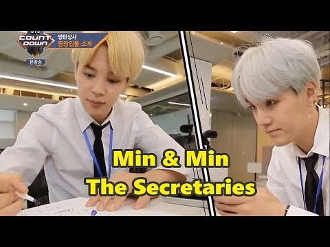 BTS as normal office workers [almost fake sub]