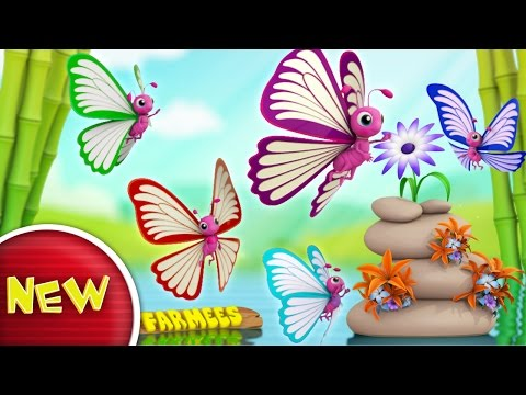 Butterfly Finger Family | Butterfly Song | Nursery Rhymes | Kids Songs | Baby Rhymes