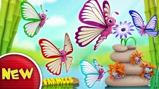 Butterfly Finger Family | Nursery Rhymes | Kids Songs | Baby Rhymes by Farmees S02E110