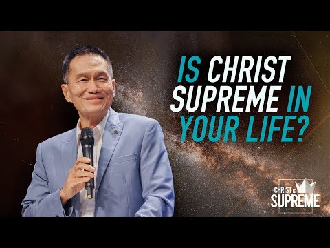 Is Jesus Supreme in Your Life - Peter Tanchi